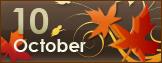 10月営業日ご案内です。